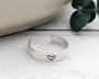 Silver Band Toe Ring