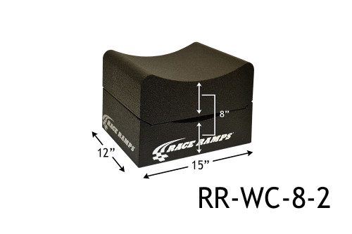 """Shop for your Race Ramps 8"""" of Lift Wheel Cribs Adjustable 4""""+4"""" Stacked - 15""""L x 12""""W (Set of 2) RR-WC-8-2 and add a coupon in your shopping cart to save even more before you check out with Just Bolt-Ons."""