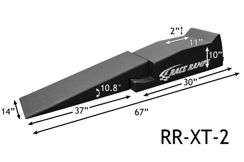 """Shop for your Race Ramps 67"""" Car Service Ramps XT 2-PC Design - 10.8 Degree Angle (Set of 2) RR-XT-2 and add a coupon in your shopping cart to save even more before you check out with Just Bolt-Ons."""