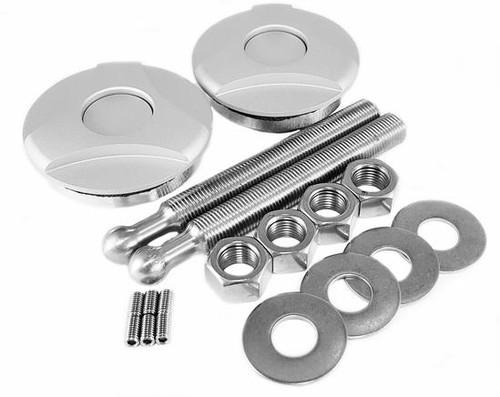 Quik-Latch Twist Lock Silver Hood Pins (Set of 2) QL-50-TWS