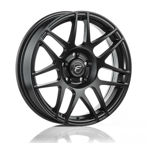 Forgestar F14 Drag Pack Matte Black Wheel 18x5 -37 5x115BC for Charger, Challenger, Magnum, 300 #1850F14MAT375115