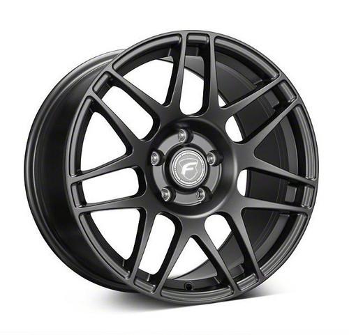 Forgestar F14 Drag Pack Matte Black Wheel 17x10.5 +65 5x4.75BC for 1997-2004 Corvette C5 Base, 2005-2013 Corvette C6 Base & 2005-2009 Corvette C6 Z51 #17105F14MAT655475