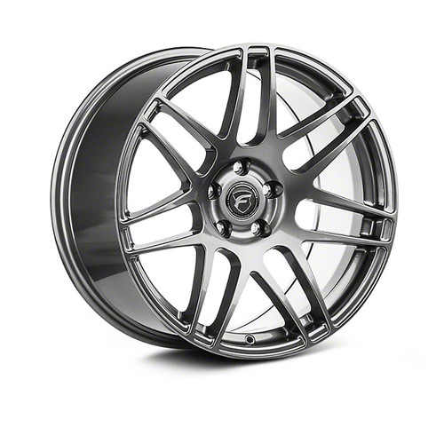 Forgestar F14 Drag Pack Gunmetal Wheel 17x8.5 +32 6x115BC for 2004-2007 Cadillac CTS-V GEN 1 #1785F14GUN326115 F17378597P32