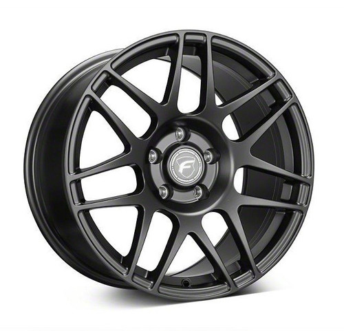 Forgestar F14 Drag Pack Matte Black Wheel 17x8.5 +32 6x115BC for 2004-2007 Cadillac CTS-V GEN 1 #1785F14MAT326115