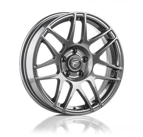 Forgestar F14 Drag Pack Gunmetal Wheel 17x5 -12 6x115BC for 2004-2007 Cadillac CTS-V GEN 1 #1750F14GUN126115