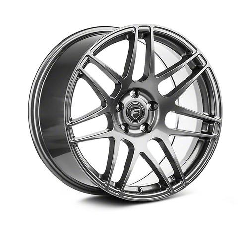 Forgestar F14 Drag Pack Gunmetal Wheel 17x9.5 +44 5x4.5BC for Ford Vehicles #1795F14GUN44545