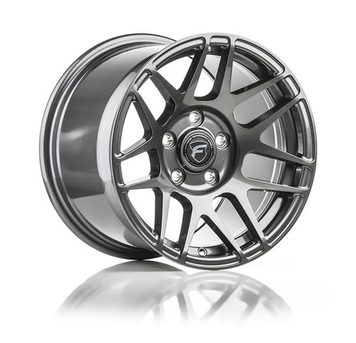 Forgestar F14 Drag Pack Gunmetal Wheel 15x7 -13 5x4.5BC for Ford Vehicles #1570F14GUN13545