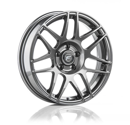 Forgestar F14 Drag Pack Gunmetal Wheel 17x4.5 -26 5x4.75BC for 1993-2002 Camaro / Firebird #1745F14GUN265475