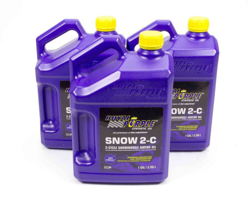 Shop with Drag Racing Wheels for the best deals on Royal Purple 2 Stroke Oil - Snow 2-C - Synthetic - 1 Gallon - Set of 3 - 43511.