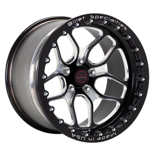 Billet Specialties Win Lite 17X10 Drag Pack Single BeadLock Rear Wheels Widebody Hellcat / SCAT Pack / Demon - BRSB271F9051N