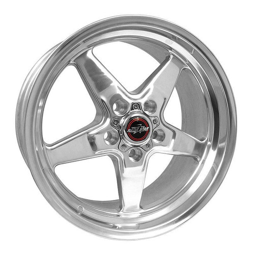 Shop for your Race Star 92 Drag Star Polished 18x5 5x4.50BC 2.00BS Ford #92-850145DP.