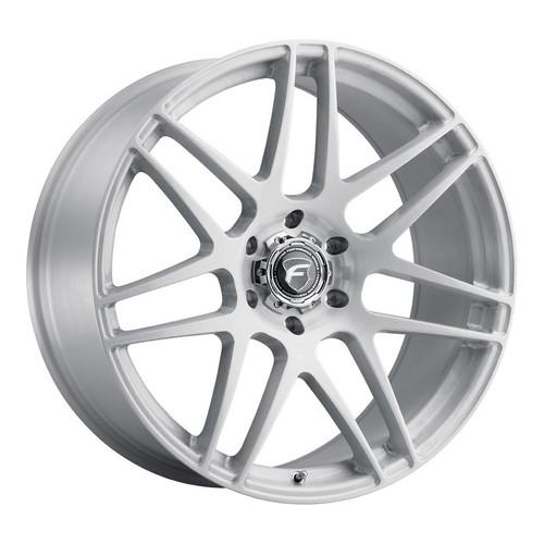 Forgestar X14 Super Deep Gloss Brushed Wheel 22x10 | 6x139.7BC | +30 Offset | 6.7 Backspacing - F35820084P30  for Chevrolet Silverado 1500 1999-2018, GMC Sierra 1500 1999-2018, Escalade / Suburban / Tahoe (Pre-2018)