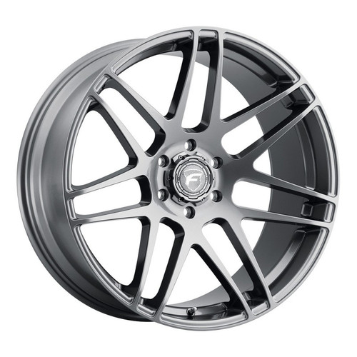 Forgestar X14 Super Deep Gunmetal Wheel 22x10   6x139.7BC   +30 Offset   6.7 Backspacing - F35320084P30 for Chevrolet Silverado 1500 1999-2018, GMC Sierra 1500 1999-2018, Escalade / Suburban / Tahoe (Pre-2018)
