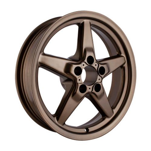 Race Star 92 Drag Star 17x4.50 5x4.50bc 1.75bs Bronze Wheel #92-745142BZ