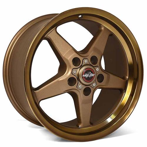 Race Star 92 Drag Star 17x10.50 5x4.50bc 7.63bs Bronze Wheel #92-705154BZ