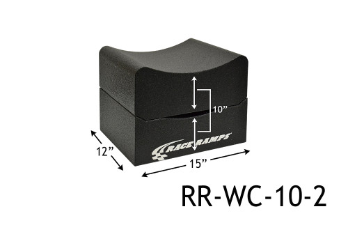 """Shop for your Race Ramps 10"""" of Lift Wheel Cribs Adjustable 5""""+5"""" Stacked - 15""""L x 12""""W (Set of 2) RR-WC-10-2 and add a coupon in your shopping cart to save even more before you check out with Just Bolt-Ons."""
