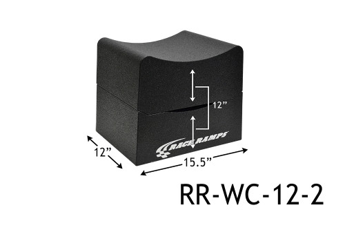 "Shop for your Race Ramps 12"" of Lift Wheel Cribs Adjustable 6""+6"" Stacked - 15.5""L x 12""W (Set of 2) RR-WC-12-2 and add a coupon in your shopping cart to save even more before you check out with Just Bolt-Ons."
