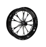 Weld Racing V-Series 1-Piece 15x3.5 / Anglia Spindle MT / 1.75in. BS Black Drag Wheel - Non-Beadlock #84B-15000