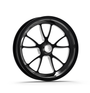 Weld Racing Full Throttle 1-Piece 15x3.5 / Anglia Spindle MT / 1.75in. BS Black Drag Wheel - Non-Beadlock #82B-15000NB