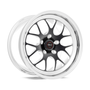 Weld Racing RT-S S77 18x10.5 / 5x4.5 BP / 6.6in. BS Black Drag Wheel (High Pad) - Non-Beadlock #77HB8105A66A
