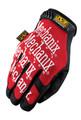 Mechanix Wear Original Gloves - Black / Red (Hoop & Loop Closure) Small to 2X-Large - MG-02
