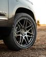 Forgestar X14 Deep Gunmetal Wheel 22x10   6x139.7BC   +30 Offset   6.7 Backspacing - F25320084P30 for Chevrolet Silverado 1500 2019-2022, GMC Sierra 1500 2019-2022, Cadillac Escalade 2019-2022, GMC Yukon 2019-2022, Chevrolet Tahoe 2019-2022, Chevrolet Suburban 2019-2022