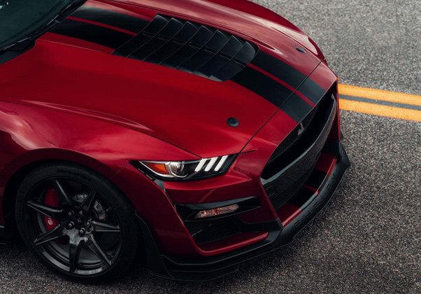 2020 Shelby GT500 Black Hood Pins by Quik-Latch. Order Black or Silver Low Profile Hood Pins Today!