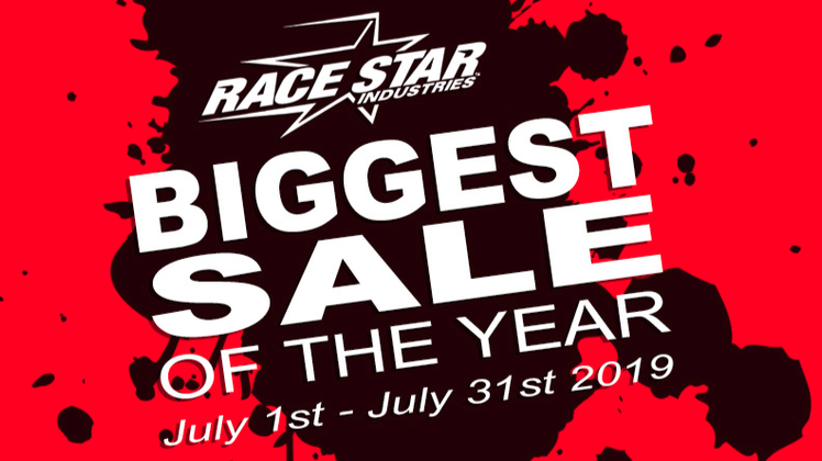 Up to 40% Off Race Star 92 Drag Stars, 93 Truck Stars and 95 Recluse Wheels Until 7/31/2019!