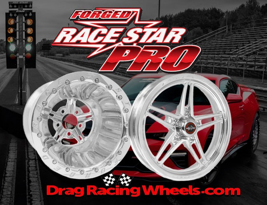 Race Star 63 Pro Forged Double Beadlock Drag Wheels for Sportsman, Pro-Stock & Pro-Mod - Now Available!