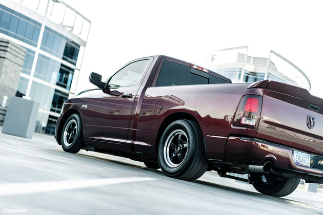 Ram 1500 Procharged with Forgestar D5 17x5 and 17x10 Drag Wheels available @ DragRacingWheels.com