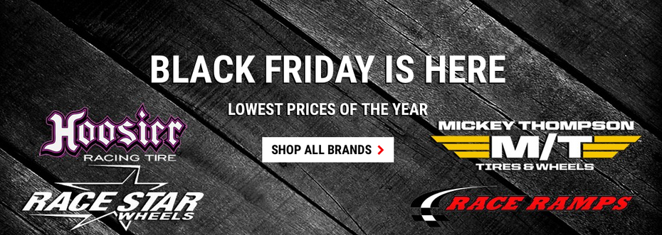 2018 Black Friday Deals on Race Star Wheels, Mickey Thompson & Hoosier Tires - Save Up To 50% Off