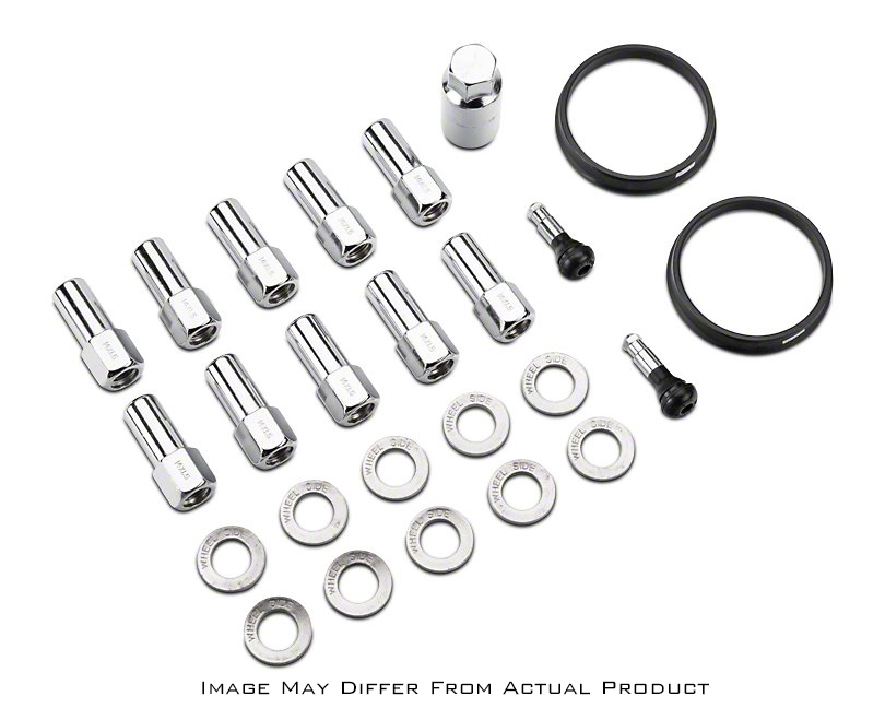 Race Star Industries 601-1429-20 Lug Kit-20 PK 14mm x 1.5 1.38in. Shank with 7//8in. Head Closed End 15+ Mustang