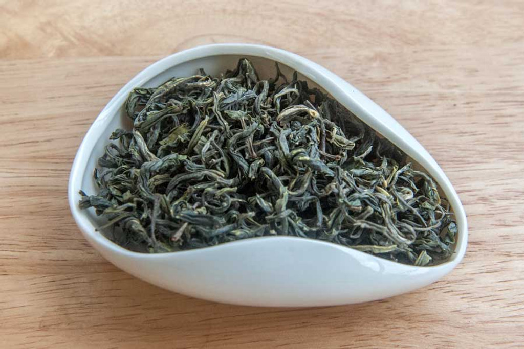 Tiger Monkey Green Tea, Lung Phin, Vietnam - Dry Leaves