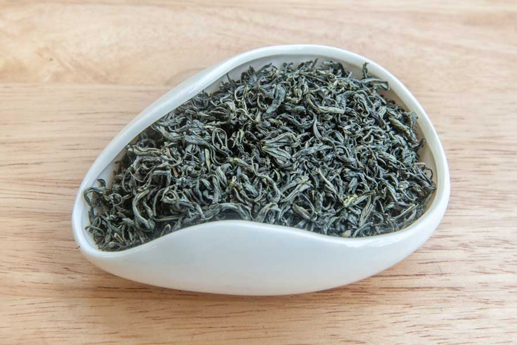 Fish Hook Green Tea, Vietnam - Dry Leaves
