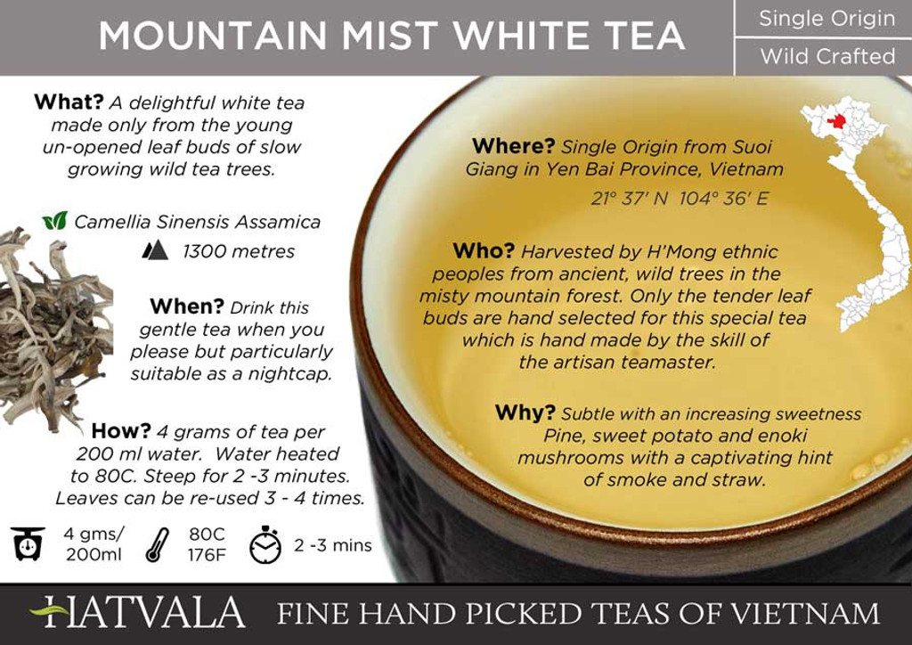 Mountain Mist White Tea, Vietnam