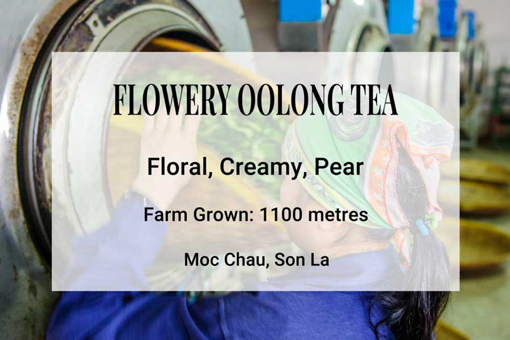 Flowery Oolong Tea Vietnam