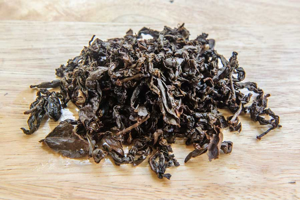 Red Buffalo Oolong Tea V ietnamWet Leaves