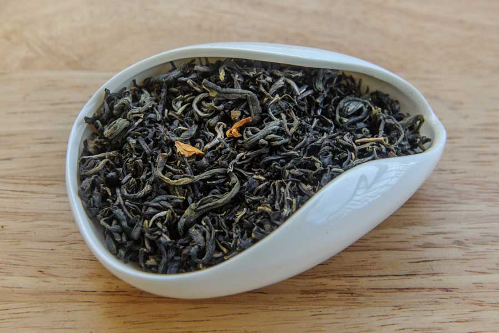 Autumn Jade Jasmine Tea Vietnam Dry Leaves