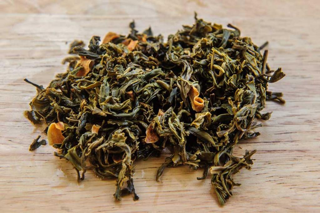 Pomelo Flower Tea Vietnam Wet Leaves