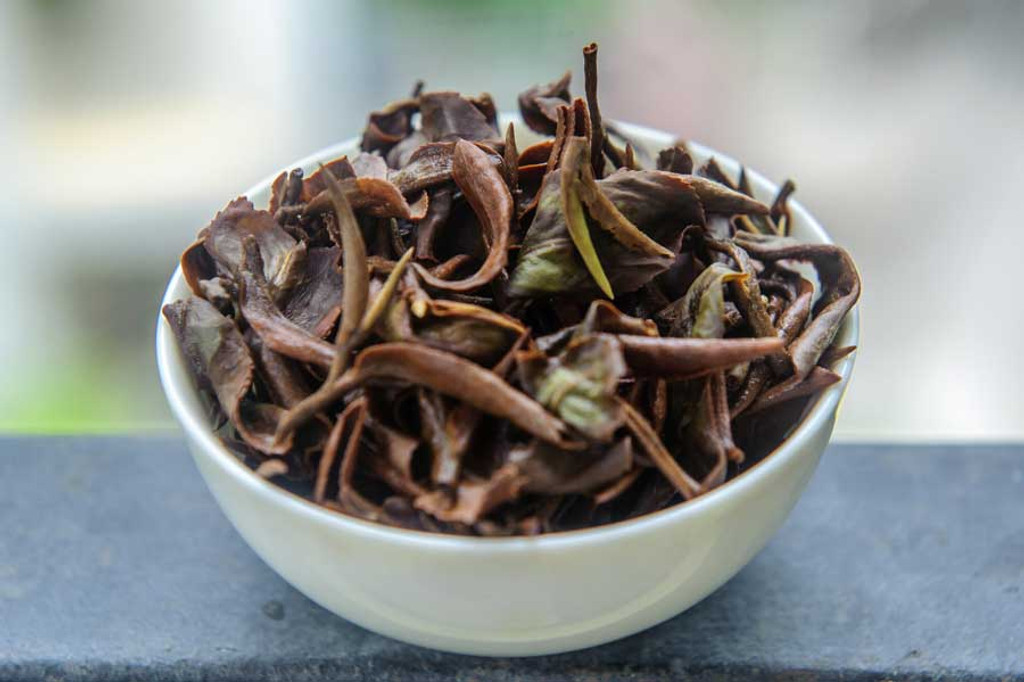 Oriental Beauty Oolong Tea Vietnam Wet Leaves