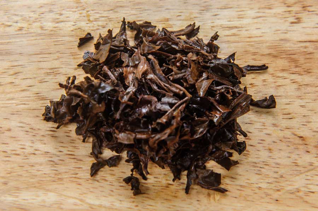Black Jasmine Tea Vietnam Wet Leaves