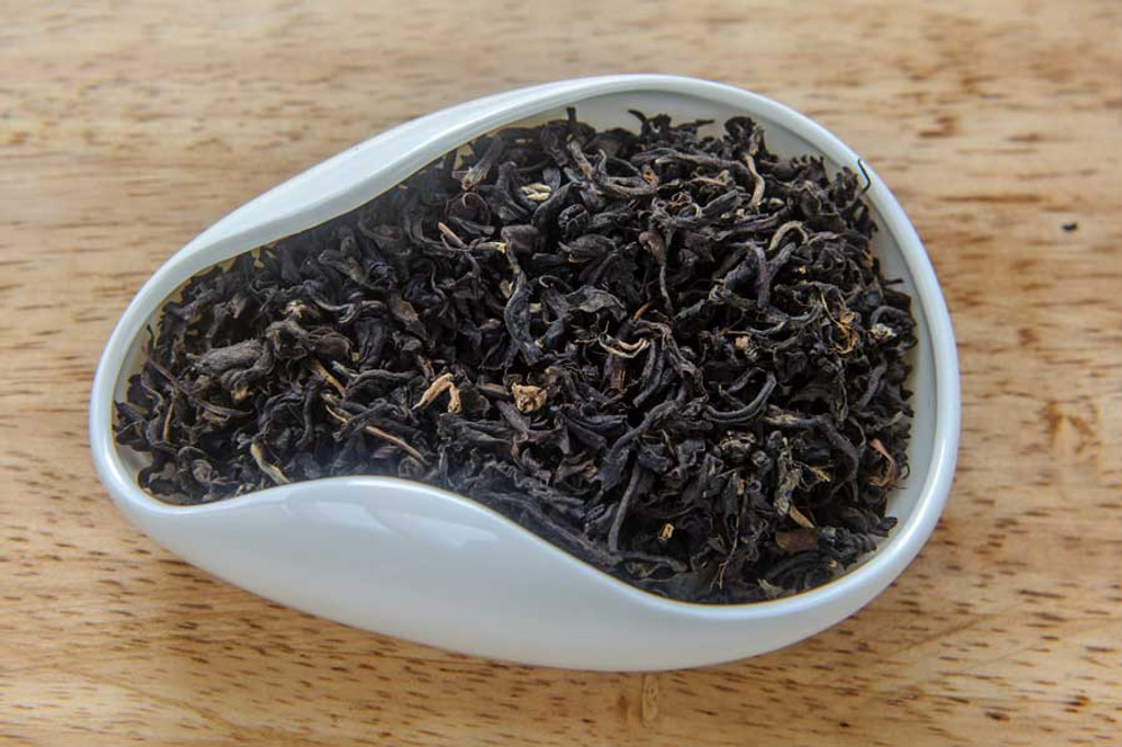 Black Jasmine Tea Vietnam Dry Leaves