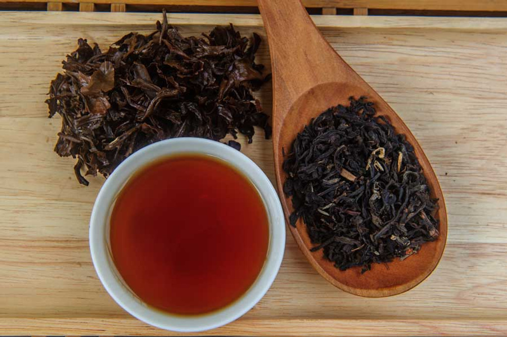 Black Jasmine Tea Vietnam Display