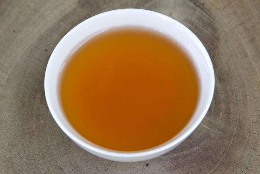 Mossy Frog Black Tea Suoi Giang Vietnam Cup Liquor