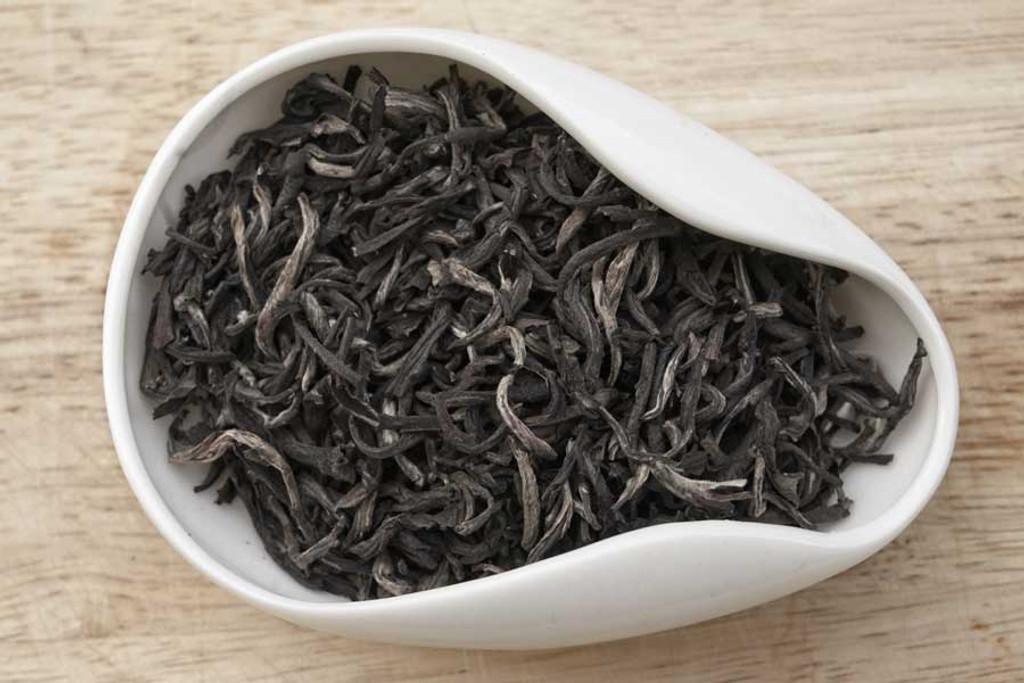 Blushing Moon Green Tea Dry Leaves