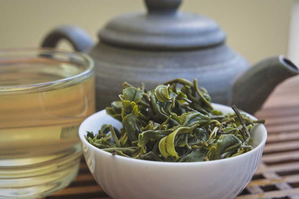Bamboo Dream Green Tea Pot
