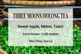 Three Moons Oolong Tea Vietnam