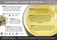 Floating Cloud Tea Card