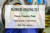 Flowery Oolong Tea Vietnam