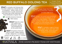 Red Buffalo Oolong Tea Vietnam Card